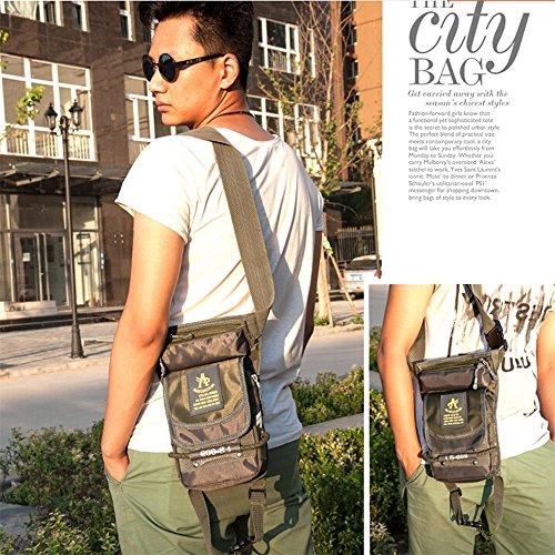 xiangshang shangmao Imperméable à la Taille Fanny Pack Hip Rider Tactique Militaire Drop Leg Sac armée Vert