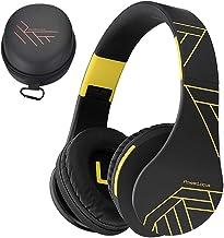 PowerLocus Bluetooth Over-Ear Headphones, Wireless Stereo Foldable Headphones Wireless..
