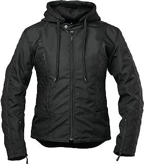Speed and Strength Minx Leather Textile Women's Street Motorcycle Jacket - Black/Medium