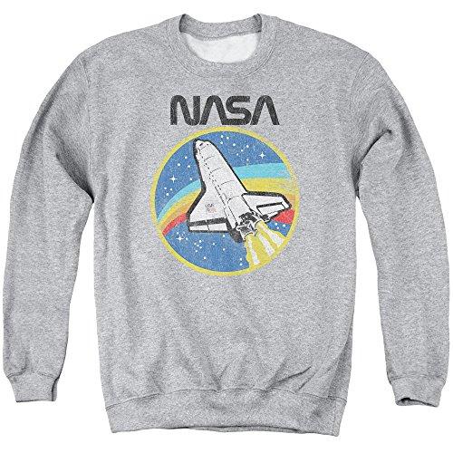 NASA Shuttle Unisex Adult Crewneck Sweatshirt for Men and Women Athletic...