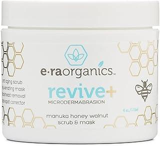 Era Organics Microdermabrasion Facial Scrub & Face Exfoliator – Spa Quality..