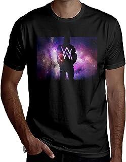 Alan Walker メンズ Tシャツ半袖 夏 Oネックシンプル カジュアル 大人のTシャツ
