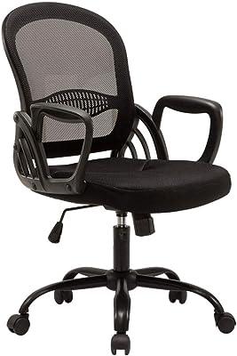 Sillón de Malla para Silla de informática Sillón de Oficina en casa sillón Taburete de Sala