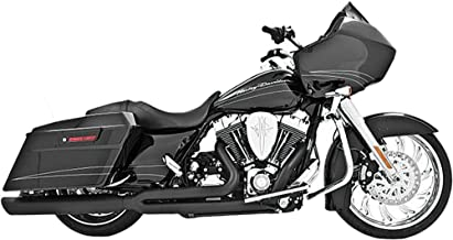 Freedom Performance Union 2 into 1 Black Exhaust for 1995-2011 Harley Davidson FLH/FLT