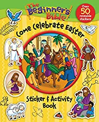 The Beginners Bible come Celebrate Easter Sticker and Activity Book