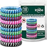 Mückenschutz Armband 10 Stück mit verbesserter Wirkung, Anti Mückenarmband Camping Zubehör für...