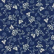 Moda Christopher Wilson Tate Regency Blues Reproduction Bamburgh 1780 1800 Dark Blue