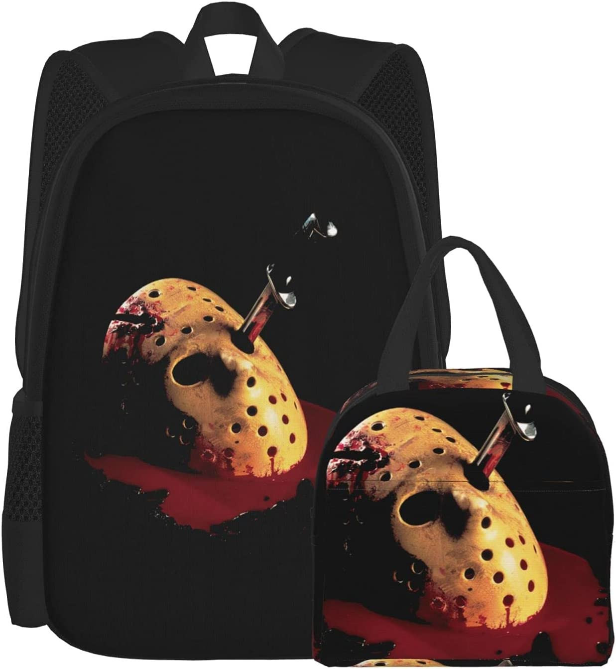 Friday The 13th Lunch Bag Unisex Pack Backpack And 2021 model Max 48% OFF Combination