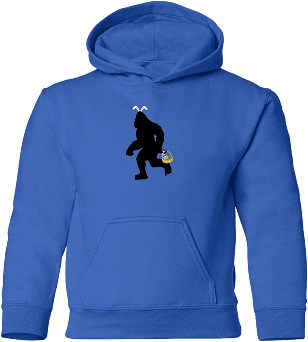 Funny Sasquatch Big Foot Easter Bunny Toddler Hoodie