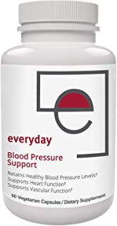 Everyday Blood Pressure Support - Natural Heart Health Cholesterol Support with Magnesium - 60 Capsules Inc...