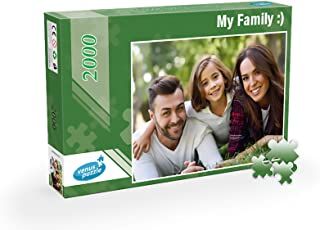 Custom Photo Puzzle 2000 Pieces, Custom Photo Puzzle from Your own Image, Personalized Photo Puzzle 2000 Pieces (Box Classic)
