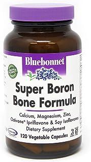 BlueBonnet Super Boron Bone Formula Vegetarian Capsules, 120 Count