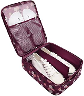 Multi-function Portable and Waterproof Travel Shoe Bag Box Pouch Case Toiletry Bag Travel Pouch Packing Cubes Luggage Orga...