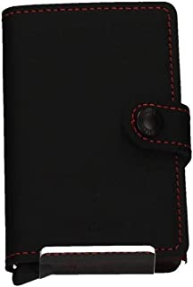 Miniwallet Matte Black & Red