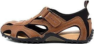 Colorado Grande Black Leather Mens Sandals