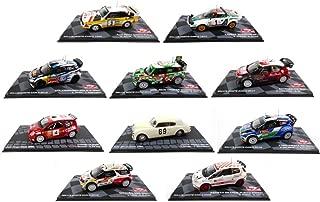 Générique Set of 10 Rally Cars WRC 1/43 Ixo: VW Citroen Lancia Ford Audi Abarth Punto Mini (BR: 1-2-3-4-5-6-8-10 + AUR + C2)