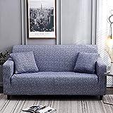 Fundas de sofá seccionales con Correas elásticas, Funda de sofá elástica y elástica Funda de sofá seccional en Forma de L Funda de sillón 29_2pcs_Funda de Almohada, Protectores de sofá antid