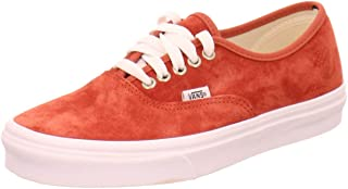 [ヴァンズ] VN0A2Z5IV75 Authentic オーセンティック スニーカー (Pig Suede) Bumt Brick/True White