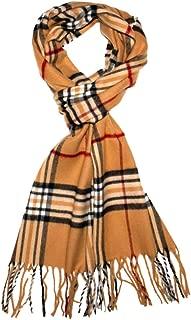 – High End LUXUS HERREN SCHAL –im CASHMINK® Verfahren veredelt - anschmiegsam weich flauschig Herrenschal harmonische Farben mit Fransen