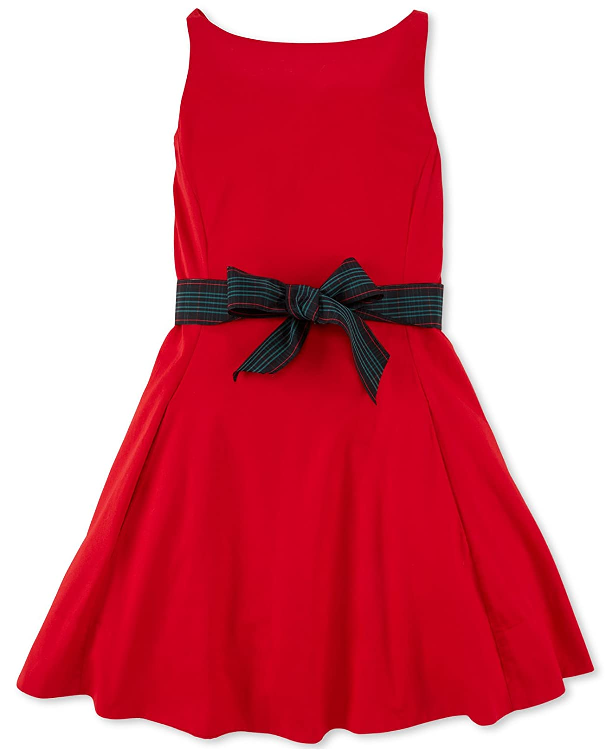 Ralph Lauren Polo Girls Fit and Flare Party Dress (6X)