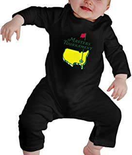 Masters Tournament Augusta National Golf Newborn Baby Boys Girls Rompers Long Sleeve Cotton Bodysuit Jumpsuit Onesies Outfits