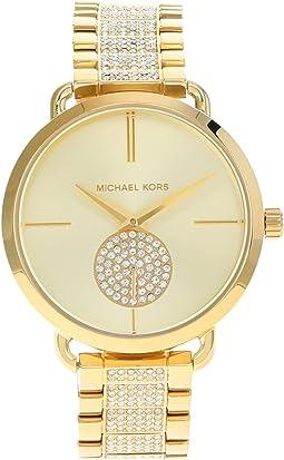 MK4602 - Portia Three Hand Stainless Steel Watch