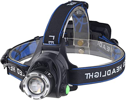 XUANLAN Led Sensor Headlight Glare Charging Long-Range Zoom Outdoor Night Running Waterproof USB Charging Headlight