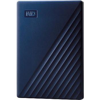 WD Mac用ポータブルHDD 2TB USB3.0 タイムマシン対応 My Passport for Mac 暗号化 パスワード保護 / 3年保証 WDBA2D0020BBL-WESN