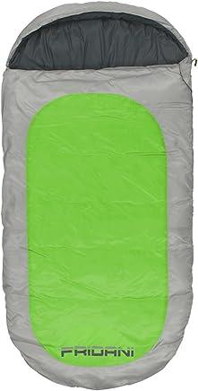 Fridani Manta Saco de Dormir para niños PG 180x90cm -12°C Verde Repelente al