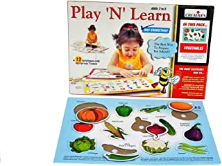 Creative Educational Early Years Play and Learn Vegetables