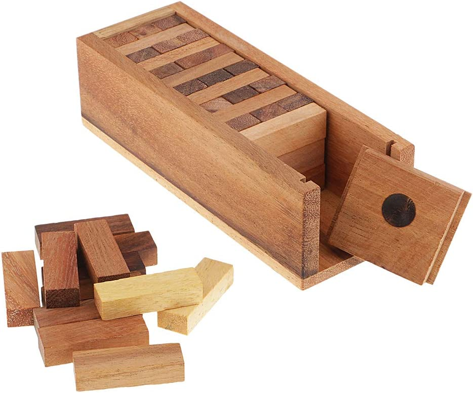 N\C Wooden Our shop OFFers the best service Stacking Tumbling Game Traditional Family Max 40% OFF Kids Board