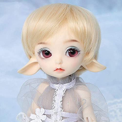 ZMH BJD Doll Größe 1 7 19CM 7 Inch 19 Ball Joints SD Dolls mit Outfit Clothes Schuhe Wigs Free Makeup Girls DIY Toys