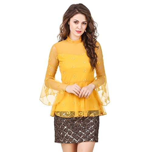 54b081b2e888eb Peplum Tops  Buy Peplum Tops Online at Best Prices in India - Amazon.in