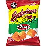 Sabritones Chile and Lime Flavored Puffed Wheat Snacks, 4 oz Bag