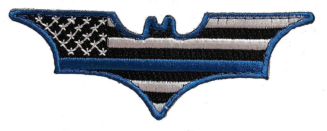 Batman Thin Blue Line Morale Patch Police Law Enforcement