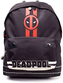 Comics Deadpool Icon Print Solid Backpack, Multi-Colour (BP510767DED) Mochila Tipo Casual, 28 cm, 20 Liters, (Multicolour)
