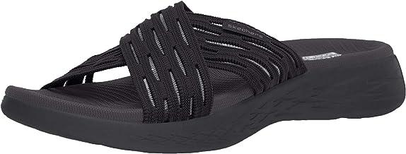 Skechers Women's Go Run 600-Sunrise Slide Sandal