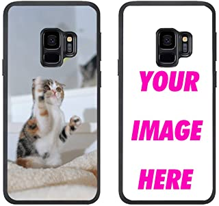 Tiddastech Customized Phone Case for Samsung Galaxy S9 Plus,Personalized Phone Case,Make Your Own Phone Case (for Samsung Galaxy S9 Plus)