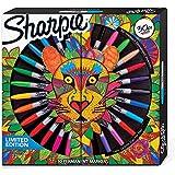 Sharpie Limited Edition - Rotuladores permanentes de 30 hilos: 6 ultra finos, 18 finos y 6 repuestos finos