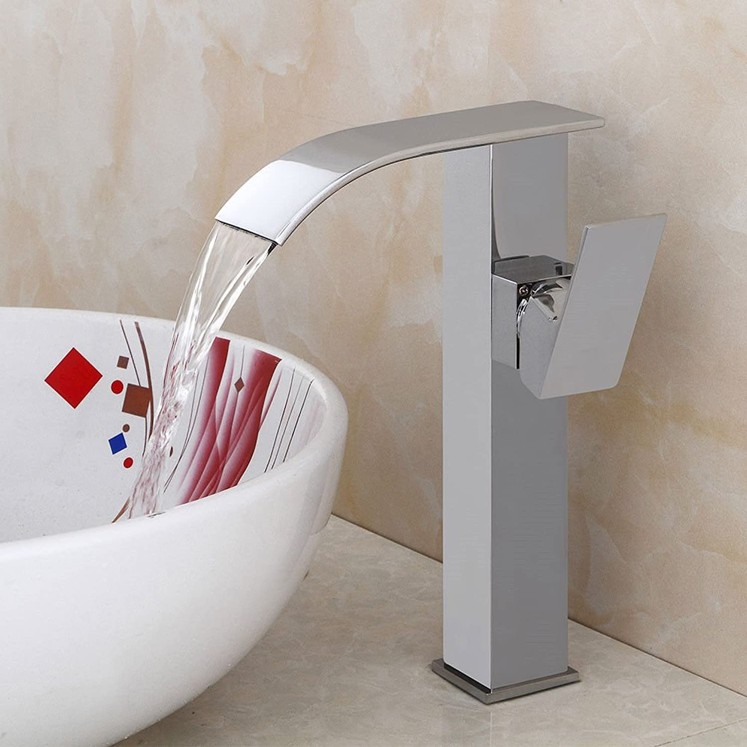 MulFaucet Faucet Water tap Taps Swivel Hoses Black Creative hot and Cold Bathroom Cabinet Bathroom wash Basin Personality A