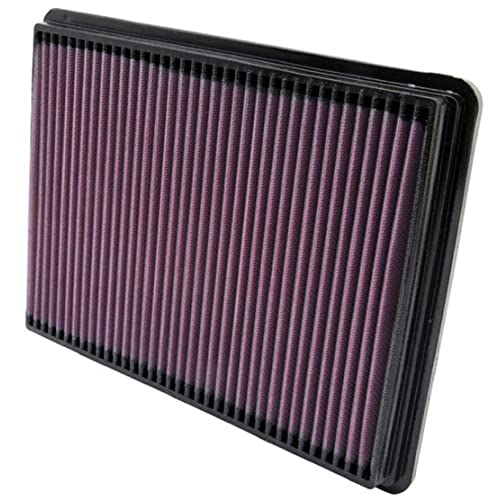 K&N Engine Air Filter: High Performance, Premium, Washable, Replacement Filter: 1999-2008 Buick/Pontiac/Chevy (Regal I, LeSabre, Century, Impala, Monte Carlo, Grand Prix), 33-2141-1