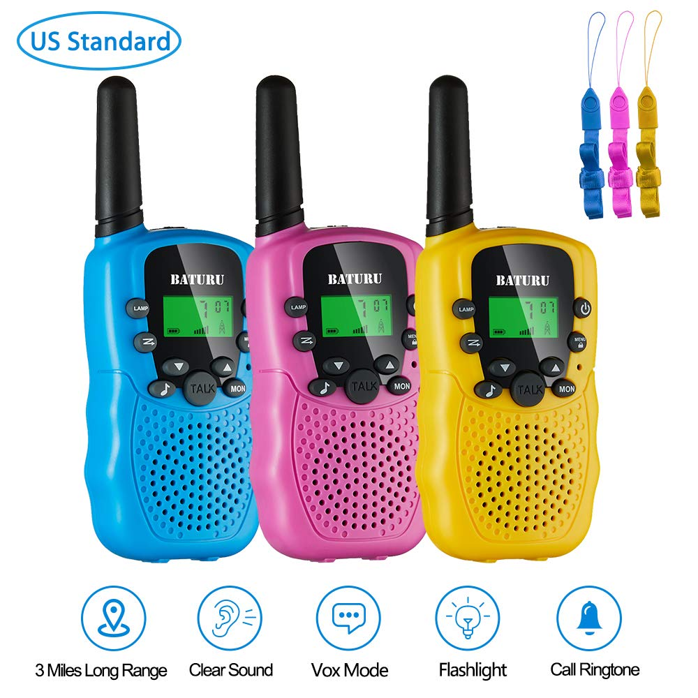 BATURU Walkie Talkies Channel Walkie talkies