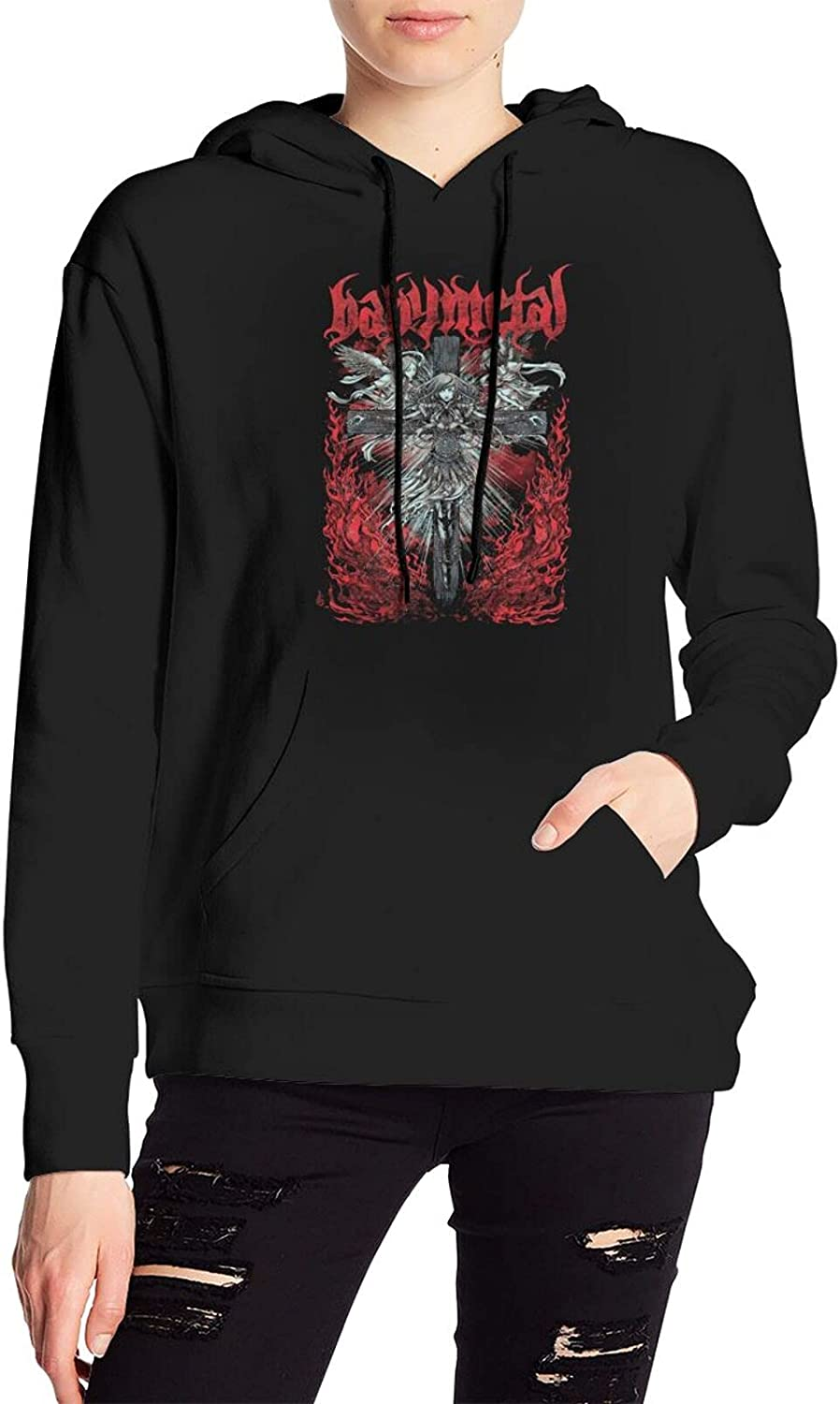 Babymetal Sweater Novelty Hoody With Pocket For Men'S Women