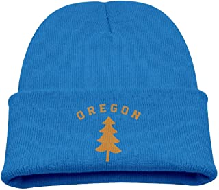 ADGoods Kids Children Oregon Douglas Pine Tree Beanie Hat Knitted Beanie Knit Beanie For Boys Girls Gorra de béisbol para ...