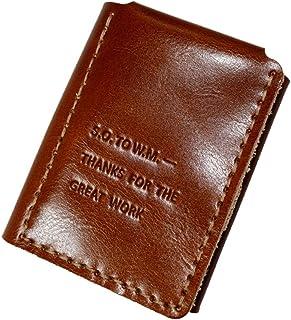 Portafoglio vintage da uomo in pelle vegetale The Secret Life of Walter Mitty personalizzabile con nome del fidanzato e ma...