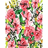 Monthly Planner 2020: Best for Gift Thanksgiving Christmas Black Friday Festival New Year Flowers Organizer To do List January - December 2020 Calendar Top goal Focus Schedule Beautiful appointments page layout planer include Holiday (Floral Planner Focus Goal)