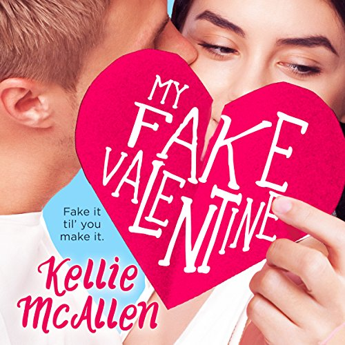 My Fake Valentine audiobook cover art