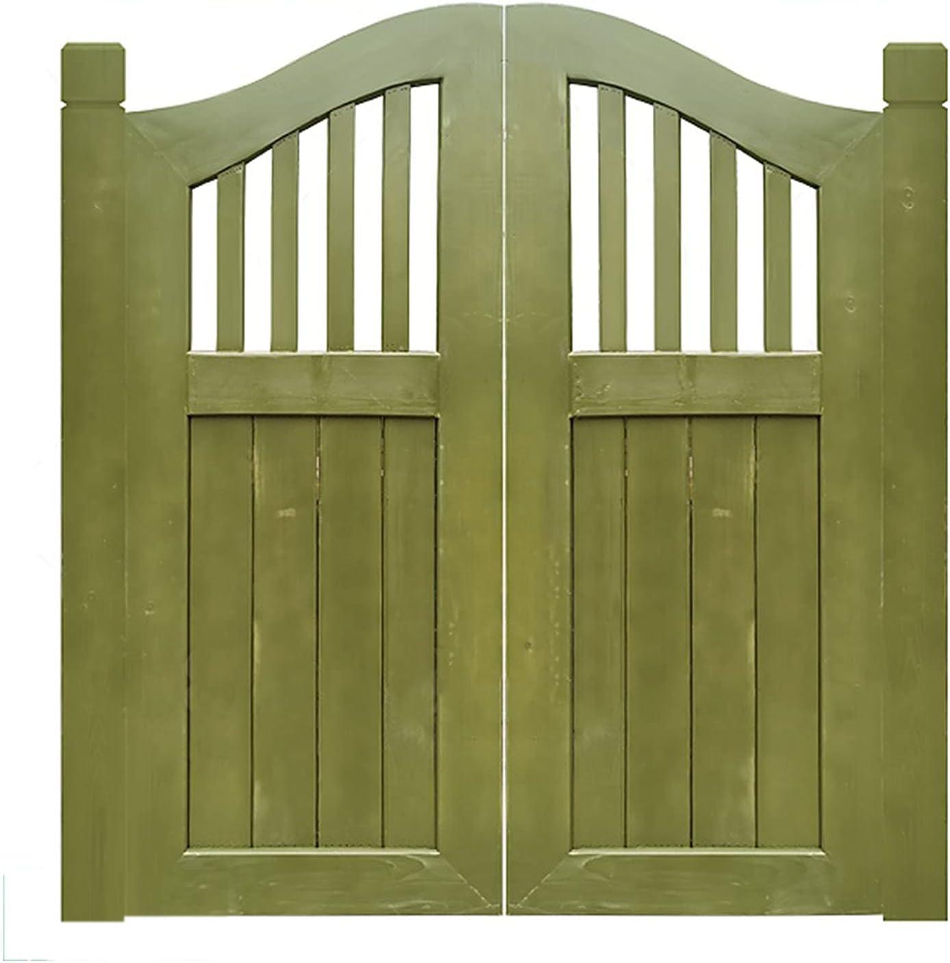 CHAXIA Swinging Cafe Doors, Solid Wood Double Open Half Waist Do