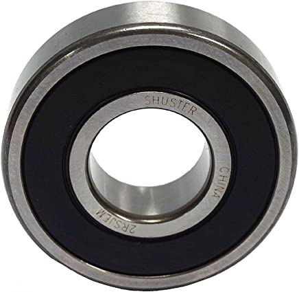ABEC 1 Precision 47 mm Height Normal Clearance Double Sealed 47 mm Length 15.875 mm ID Shuster 6204 5//8 2RS Deep Groove Ball Bearing High Carbon Chrome Bearing Steel 14 mm Width Single Row