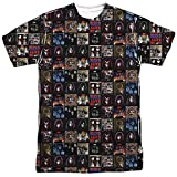 KISS Album Covers - All-Over Front & Back Print Sports Fabric Adult T-Shirt - 3XL